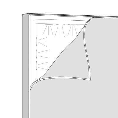 Digitaldruck und Beleuchteter Aluminium Rahmen